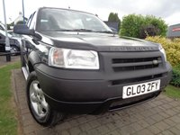 USED 2003 03 LAND ROVER FREELANDER 2.0 TD4 SERENGETI 5d AUTO 110 BHP **Great Spec Family Automatic 4WD 12 Months Mot**