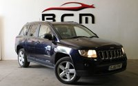 USED 2011 61 JEEP COMPASS 2.1 CRD LIMITED 4WD 5d 161 BHP