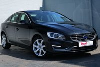 USED 2015 15 VOLVO S60 2.0 D3 SE LUX 4d AUTO 134 BHP FULL VOLVO HISTORY + LEATHER