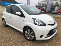 2013 TOYOTA AYGO 1.0 VVT-I MOVE WITH STYLE 5d 68 BHP £5495.00