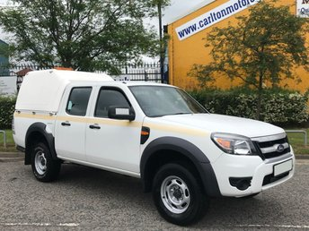2011 FORD RANGER 2.5 XL 4X4 D/CAB TDCI 143 [ Low Mileage 28k ] TRUCKMAN TOP Ex Council Free UK Delivery