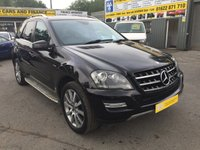2011 MERCEDES-BENZ M CLASS 3.0 ML300 CDI BLUEEFFICIENCY GRAND EDITION 5d AUTO 204 BHP 52000 MILES £14999.00