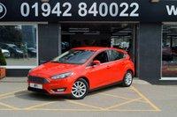 2015 FORD FOCUS 1.6 TITANIUM 5d AUTO 124 BHP NAVIGATION  £9795.00