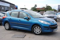 2007 PEUGEOT 207 1.4 SW S 5d 94 BHP £2475.00