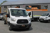 2014 FORD TRANSIT 2.2 350 C/C DRW 1d 124 BHP EXTENDED FRAME £12350.00