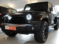USED 2015 65 JEEP WRANGLER 3.6 V6 Petrol Automatic 5 Door KAHN EDITION with Upgrades and FSH. RESERVED FOR SARAH and ADAM RESERVED FOR SARAH AND ADAM. Kahn Edition, 1 Owner with Front Quilted Bucket Seats, 20in Kahn Alloys, Sculptured and Vented Bonnet, LED Headlights and Rear Lights, Full Service History and Just Serviced Again, Twin Sports Exhaust, Satellite Navigation, DAB Digital Radio, Reversing Camera and Choice of Front Grille.