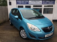 USED 2012 62 VAUXHALL MERIVA 1.7 EXCLUSIV CDTI 5d 128 BHP 30K FSH 1FAMILY OWNER 6 SPD F/R PARKING SENSORS EXCELLENT CONDITION