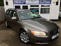 USED 2008 V VOLVO V70 2.4 D5 SE 5d AUTO 183 BHP UNIQUE OPPORTUNITY JUST 4,263 MILES ONLY FSH VIRTUALLY AS NEW