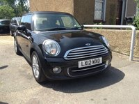 2012 MINI HATCH COOPER 1.6 COOPER 3d BLACK MANUAL PETROL £4790.00