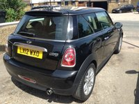 USED 2012 12 MINI HATCH COOPER 1.6 COOPER 3d 122 BHP CHILLI PACK + ONE LADY + £2970 EXTRAS NEW