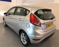 USED 2014 64 FORD FIESTA 1.2 ZETEC 5d 81 BHP Only 34,000 miles with Air conditioning,alloys wheels,Blue tooth,heated front screen  -come and view today !