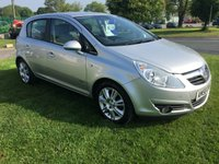 USED 2008 58 VAUXHALL CORSA 1.4 DESIGN 5 DOOR FSH Very clean car value for money