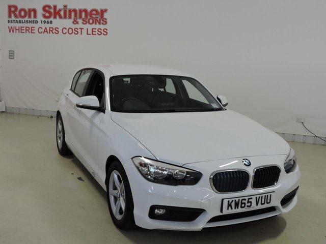 View our 2016 65 BMW 1 SERIES 1.5 116D ED PLUS 5d 114 BHP