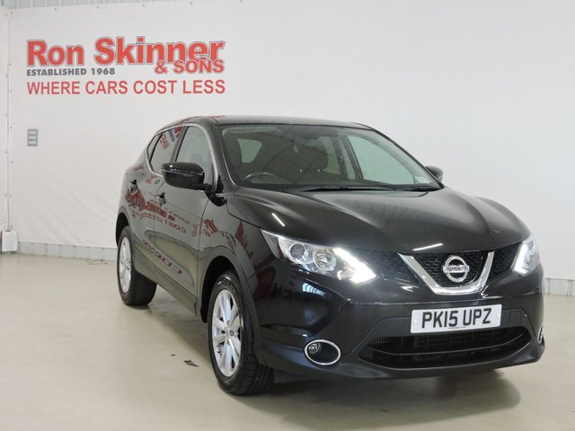 View our 2015 15 NISSAN QASHQAI 1.5 DCI ACENTA 5d 108 BHP