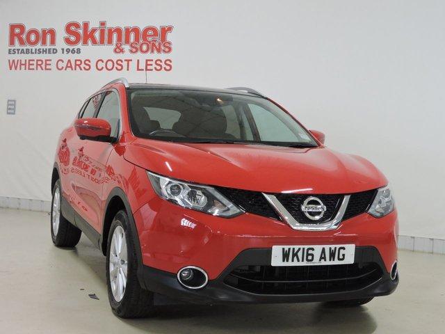 View our 2016 16 NISSAN QASHQAI 1.5 DCI TEKNA 5d 108 BHP