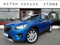 2012 MAZDA CX-5 2.0 SPORT NAV 5d 163 BHP ** NAV * CAMERA * LEATHER ** £12990.00