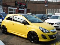 2012 VAUXHALL CORSA 1.2 LIMITED EDITION 3d 83 BHP £4736.00