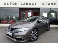 2014 HONDA CIVIC 1.6 I-DTEC ES 5d 118 BHP ** CAMERA * CRUISE ** £7850.00