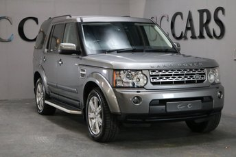 2010 LAND ROVER DISCOVERY 3.0 4 TDV6 XS 5d AUTO 245 BHP £14995.00