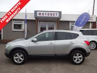 USED 2008 08 NISSAN QASHQAI 1.6 ACENTA 5DR HATCHBACK 113 BHP +++WORLD CUP SALE NOW ON+++