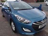 USED 2014 14 HYUNDAI I30 1.6 ACTIVE BLUE DRIVE CRDI 5d 109 BHP