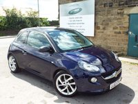 USED 2013 63 VAUXHALL ADAM 1.2 SLAM S/S 3d 69 BHP FULL Service History Only £30 Road Tax