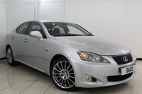 USED 2010 60 LEXUS IS 2.5 250 F SPORT 4DR AUTOMATIC 204 BHP FULL SERVICE HISTORY + HALF LEATHER SEATS + SAT NAVIGATION + REVERSE CAMERA + BLUETOOTH + PARKING SENSOR + MULTI FUNCTION WHEEL + CLIMATE CONTROL + 18 INCH ALLOY WHEELS