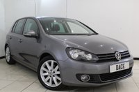 USED 2010 10 VOLKSWAGEN GOLF 2.0 GT TDI 5DR 138 BHP SERVICE HISTORY + CRUISE CONTROL + MULTI FUNCTION WHEEL + AUXILIARY PORT + AIR CONDITIONING + 17 INCH ALLOY WHEELS