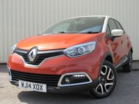 USED 2014 14 RENAULT CAPTUR 0.9 DYNAMIQUE S MEDIANAV ENERGY TCE S/S 5d 90 BHP