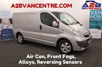 USED 2014 14 VAUXHALL VIVARO 2.0 2700 CDTI SPORTIVE SWB 115 BHP Air Con, Bluetooth Phone Connectivity **Drive Away Today** Over The Phone Low Rate Finance Available