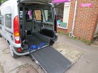 USED 2008 08 RENAULT KANGOO 1.6 EXPRESSION 16V 5d AUTO 94 BHP WAV RAMP CONVERSION. SCOOTER/WHEELCHAIR ACCESS.VERY LOW MILES DELIVERY POSSIBLE
