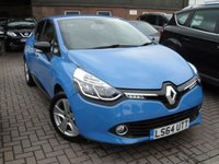 USED 2014 64 RENAULT CLIO 0.9 DYNAMIQUE MEDIANAV ENERGY TCE S/S 5d 90 BHP ANY PART EXCHANGE WELCOME, COUNTRY WIDE DELIVERY ARRANGED, HUGE SPEC
