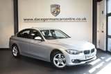 USED 2014 64 BMW 3 SERIES 2.0 320I SE 4DR 181 BHP + FULL BMW SERVICE HISTORY + 1 OWNER FROM NEW + BLUETOOTH + CRUISE CONTROL + DAB RADIO + RAIN SENSORS + PARKING SENSORS + 16 INCH ALLOY WHEELS +