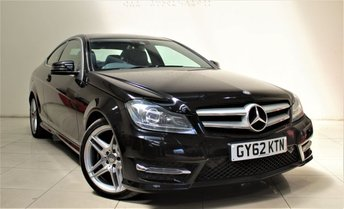 2012 MERCEDES-BENZ C CLASS 2.1 C220 CDI BLUEEFFICIENCY AMG SPORT 2d AUTO 170 BHP £11299.00