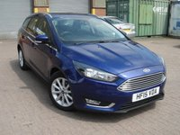 USED 2015 15 FORD FOCUS 1.6 TITANIUM 5d AUTO 124 BHP ANY PART EXCHANGE WELCOME, COUNTRY WIDE DELIVERY ARRANGED, HUGE SPEC