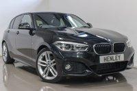 2015 BMW 1 SERIES 2.0 120D M SPORT 5d AUTO 188 BHP £15490.00