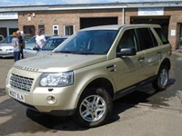 USED 2007 07 LAND ROVER FREELANDER 2.2 TD4 S 5d AUTO 159 BHP GREAT VALUE + MOT MAY 2019