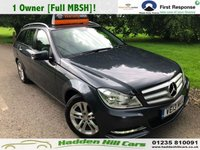 2013 MERCEDES-BENZ C CLASS 2.1 C200 CDI BLUEEFFICIENCY EXECUTIVE SE 5d 135 BHP £8995.00