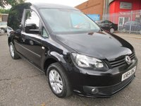 2014 VOLKSWAGEN CADDY C20 1.6 TDI HIGHLINE 102 *GLAZED TAILGATE + AIR CON* £8995.00