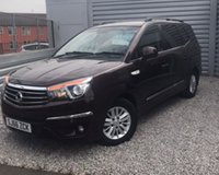 2016 SSANGYONG RODIUS TURISMO 2.2 EX A/T 5d 176 BHP £15295.00