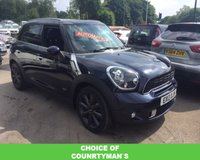 2013 MINI COUNTRYMAN 2.0 COOPER SD ALL4 5d AUTO 141 BHP £11489.00