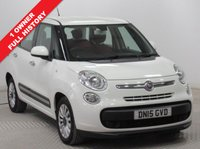 USED 2015 15 FIAT 500L 1.2 MULTIJET POP STAR DUALOGIC 5d AUTO 85 BHP 1 Owner and Full Fiat Service History, serviced in November 2016 at 15,773 miles and November 2017 at 22,371 miles. MOT until 17th May 2019. Air Conditioning, Bluetooth, Alloys. Free RAC Warranty and Free RAC Breakdown Cover. Nationwide Delivery Available.