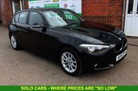 USED 2015 15 BMW 1 SERIES 1.6 116D EFFICIENTDYNAMICS BUSINESS 5d 114 BHP +Heated LEATHER +SAT NAV.