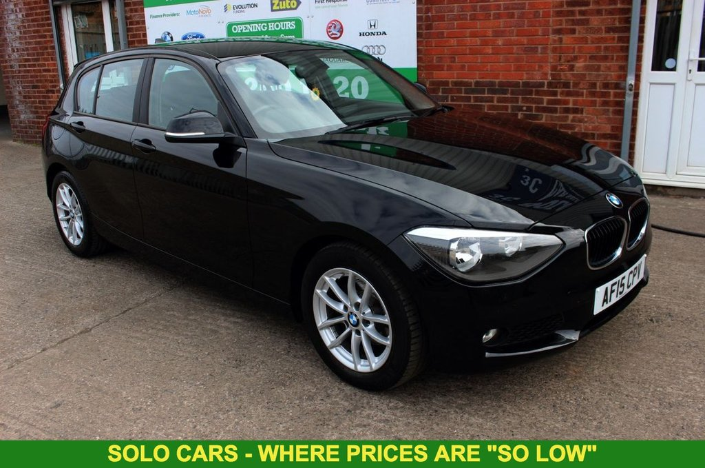 2015 15 BMW 1 SERIES 1.6 116D EFFICIENTDYNAMICS BUSINESS 5d 114 BHP