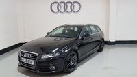 USED 2010 AUDI A4 2.0 AVANT TDI S LINE SPECIAL EDITION 5d 168 BHP 2 Previous Owners/Half Leather/Bang & Oluf/19 In Alloys