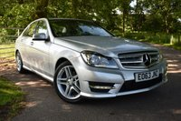 2013 MERCEDES-BENZ C CLASS 2.1 C220 CDI BLUEEFFICIENCY AMG SPORT 4d AUTO 168 BHP £13250.00