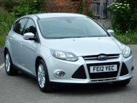 2012 FORD FOCUS 1.6 TITANIUM 5d 124 BHP £6995.00