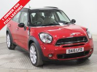 USED 2015 15 MINI COUNTRYMAN 2.0 COOPER S D 5d 141 BHP 1 Owner, Full Mini History, Full and stunning Gravity-Polar beige Leather, Chilli Pack, Mini Service Pack until 10.5.2020. Parking Sensors., Air Conditioning, Bluetooth, Alloys. Free RAC Warranty and Free RAC Breakdown Cover.