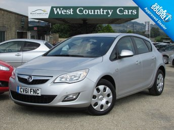 2012 VAUXHALL ASTRA 1.6 EXCLUSIV 5d 113 BHP £4500.00