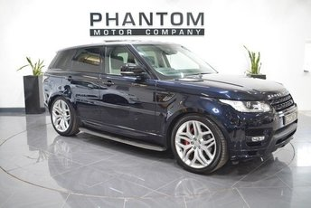 2015 LAND ROVER RANGE ROVER SPORT 3.0 SDV6 AUTOBIOGRAPHY DYNAMIC 5d AUTO 306 BHP £50990.00